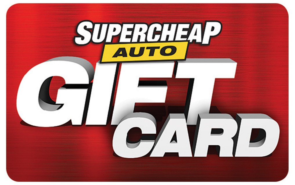 Supercheap Auto eGift Card - $50